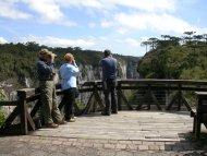 Group birding in Itambezinho canyon, south of Brazil.