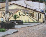 Quaint square near Palmeiras